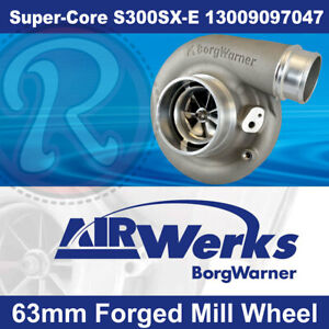 Borg Warner S300sx E Super Core Turbo 63mm Inducer Forged Mill Wheel Brand New