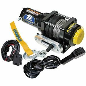 Superwinch 1140230 Lt4000 Atv Sr Winch Black