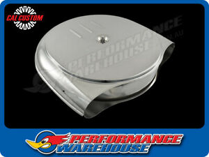 Retro Cadillac Oldsmobile Style Air Cleaner Assembly 5 1 8 Neck Chrome