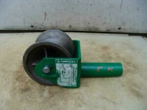 Greenlee 441 2 Inch Feeding Sheave Cable Wire Tugger Puller 1
