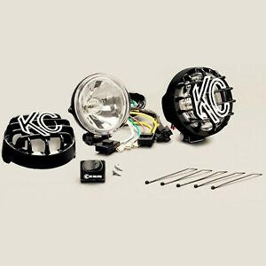 Kc Hilites For 4 Rally 400 Halogen Pair Pack System Spread Beam Black Light 490