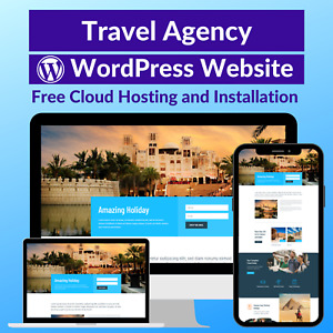 Travel Agency Sale Business Website Store Free Cloud Hosting installation