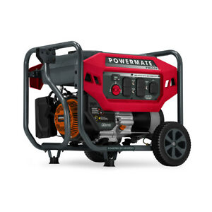 Powermate 8020 Pm4500 4 500 Watt Portable Generator Co Sense 49st