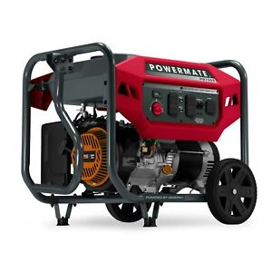 Powermate 8160 Pm7500 7 500 Watt Portable Generator 49 St csa