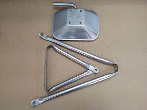 Ford Truck Pickup West Coast Stainless Steel Towing Mirror Oval Tube Bracket