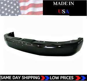 New Usa Made Black Front Bumper For 2003 2020 Express Gmc Savana Ships Today