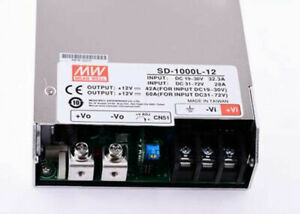 Mean Well Dc dc Switching Power Supply Sd 1000l 12