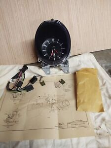 1974 76 Clock Kit Ford Torino Montego Cougar D40z 15a000 A Nos Unopened Box