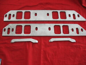 Moroso 65090 Big Block Chevy Tall Beck Intake Spacer Plates
