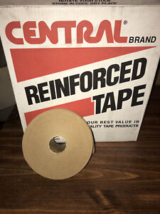 Central Reinforced Gummed Tape 2 75in 70mm X 450ft Water Activated Paper