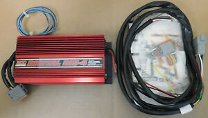 Msd 6215 Dis 4 Cd Digital Ignition Box W rpm Limiter 1 Stage Retard 470v