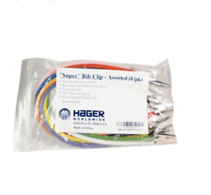 Hager Super Bib Clips Assortment 8 pkg 605290