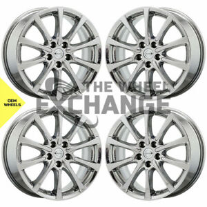 18 Nissan Murano Pvd Chrome Wheels Rims Factory Oem Set 4 2015 2020 62745