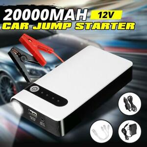 Portable Mini 20000mah 12v Car Jump Starter Engine Battery Charger Power Bank