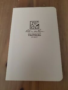 Rite In The Rain All Weather Tactical No 980t Notebook Field Book tan