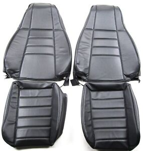 Jeep 1997 2002 Tj Wrangler Front Seats Upholstery Kit New Charcoal Color