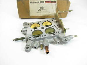 Motorcraft Cm 3852 Carburetor Throttle Base Plate For Holley 4 bbl E2pz 9518 b