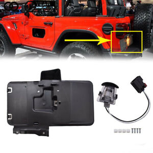 Rear License Plate Mounting Holder Bracket light For 2007 17 Jeep Wrangler Jk
