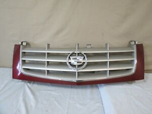 02 03 04 05 06 Cadillac Escalade Front Upper Bumper Grille Grill Mesh Oem