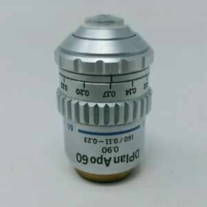 Olympus Microscope Objective Dplanapo 60x With Correction Collar