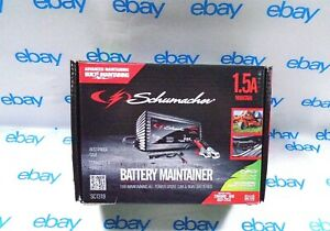 Schumacher Battery Charger Maintainer Volt 1 5 Amp Automatic Model Sc1319