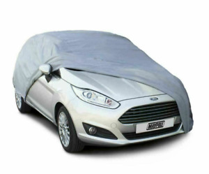 Heavy Duty Waterproof Car Cover Rain Snow Protection Outdoor Breathable Large