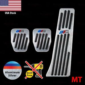 Manual Slip on Gas Clutch Brake Pedal Pads Fit 1 2 3 4 5 6 7 8 X Z Series Covers