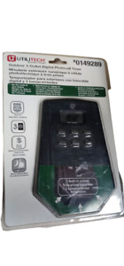 Utilitech Photocell Timer Outdoor 3 Outlet Digital 0149289