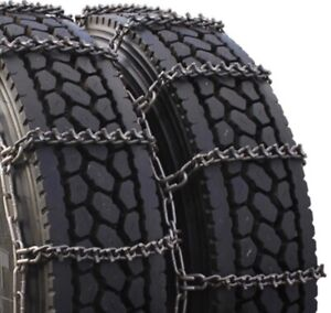 2 new usa 7mm v bar Lt245 75r17 Lt265 70r17 Dual Triple Snow Chains
