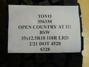 1 New Toyo Open Country At Iii Bsw 35 12 5 18 118r Lrd Tire 356330 Q1