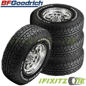 4 Bfgoodrich Radial T a P235 70r15 102s White Letter All Season Performance Tire