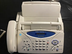Brother Intellifax 775 Home office Plain Paper Fax Phone Copier used Tested