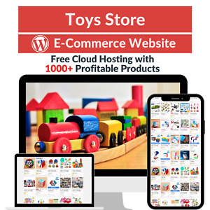Toys Store Amazon Business Affiliate Dropshipping Website With 1000 Products