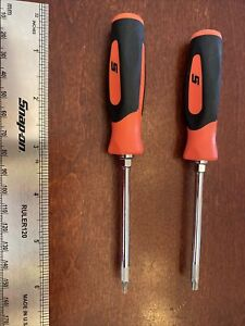 Snap On T8 And T20 Mini Torx Soft Grip Red
