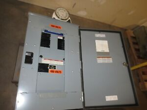 Square D Nf418m1 Electrical Panel 125amp 600y 347vac 3ph 4 Wire