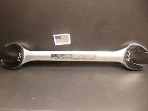 Craftsman Open End Wrench 1 1 4 X 1 5 16 V 44587 Made In The Usa