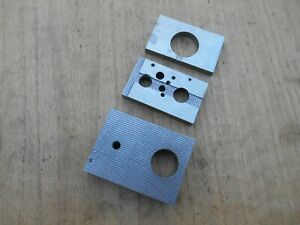 Machinist Magnetic Transfer Blocks Brass And Steel Lot Of 3