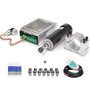 Daedalus Cnc Spindle Kit 500w Air Cooled 0 5kw Milling Motor 110v Spindle Speed