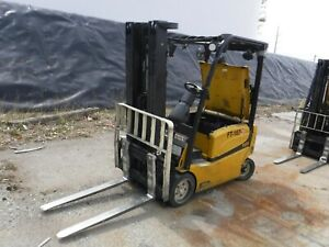 2010 Yellow Yale Ware House Electric Forklift Model Used Condition