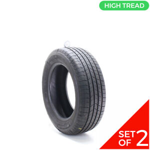 Set Of 2 Used 215 60r16 Michelin Defender T H 95h 9 32