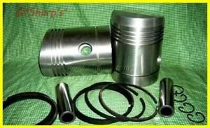 D1172r John Deere D Pistons Pins Keepers 090 High Compression Aluminum Kit