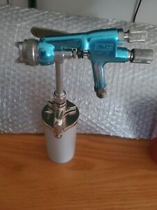 Binks Hvlp Touch Up Spray Gun Right Or Left Hand Control With New Cup