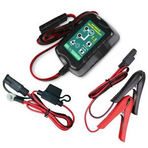 12v 6v Automatic Battery Charger Motorcycle Trickle Float For Tender Maintainer