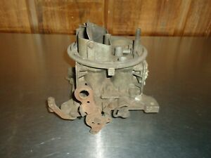 Holley 4 barrel Carburetor Body Baseplate Parts Carb Chevy Nova Impala 327 1966