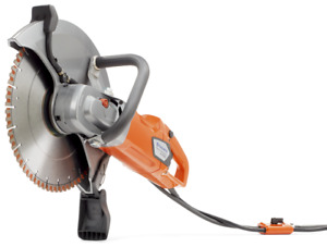 Husqvarna K4000 Wet 14 Electric Cutoff Saw W 14 Hi5 Diamond Blade