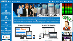 Ready Made Reseller Hosting Website Style 3009 Free Billing System Included