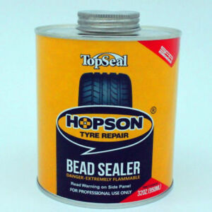 2 X Hopson Extra Thick Tyre Bead Repair Sealer Seal Leaks Tyre And Rim 1l 2l