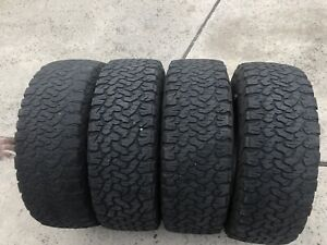 4 Used 35 Lt285 65 20 Bfg All Terrain T a Ko2 65r R20 Tires 11092 35 12 50 20