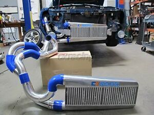 Cxracing Bolt On Intercooler Kit For 87 93 Mustang 5 0 Supercharge V3 Fox Body