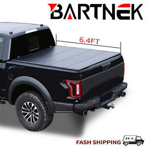 Hard Quad fold Truck Bed Tonneau Cover For Ram 2500 3500 6 4ft Bed 2002 2018